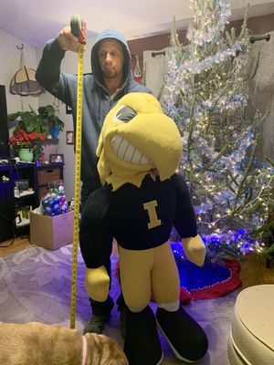 Life-size Herky the Hawk (5' tall). for Sale in Des Moines, IA