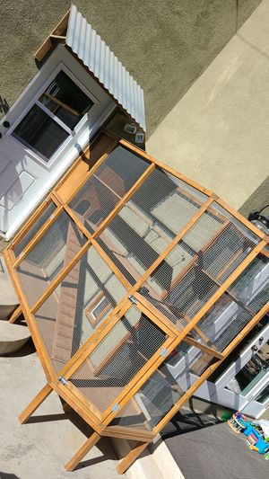 Outdoor pet multilevel cage huge custom cat bird Guinea pig for Sale in Seal Beach, CA