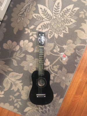 Kids guitar with pic for Sale in Herndon, VA