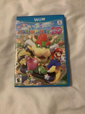 MarioParty 10 Wii U for Sale in Los Angeles, CA