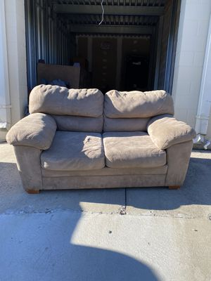 REF #22 Tan Loveseat/Couch for Sale in Raleigh, NC