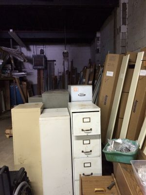 Old metal file cabinets for Sale in Pittsburgh, PA