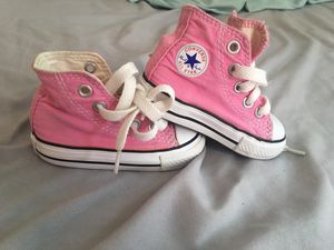 Pink converse size 3 for Sale in Santee, CA