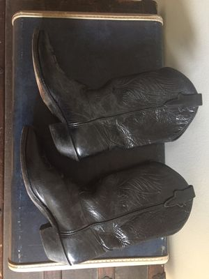 Black cowboy boots for Sale in Glendale, CA