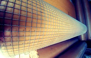 Steel wire mesh hardware cloth fence 100 foot rolls 4 ft wide for Sale in Las Vegas, NV