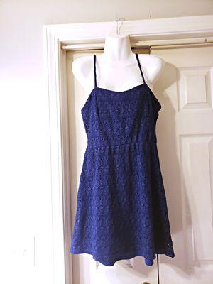 NWOT CHARMING CHARLIE BLUE LACE DRESS SIZE M for Sale in Nashville, TN