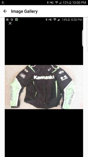 Kawasaki motorcycle jacket for Sale in Kettering, MD