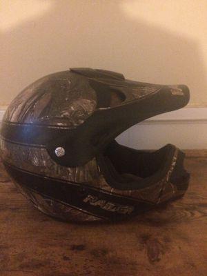 Real Tree dirt bike motorcycle helmet for Sale in Danville, VA