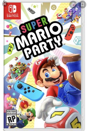 Mario party for Nintendo Switch for Sale in Sanger, CA