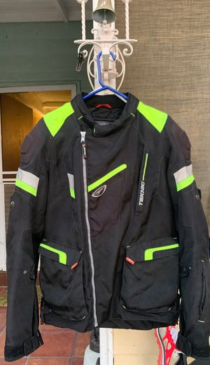 motorcycle jacket teknic good condition usa 42 Large for Sale in Los Angeles, CA