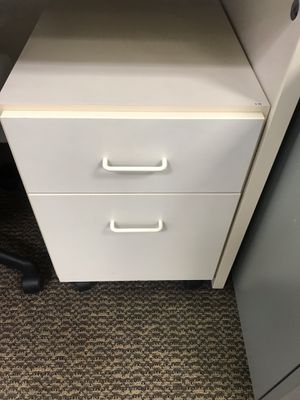 White mobile file cabinet for Sale in Tigard, OR