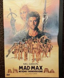 Mel Gibson Mad Max Beyond Thunderdome Movie DVD 1997 for Sale in Chapel Hill,  NC