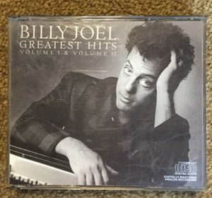 "Billy Joel ""Original 1985"" Greatest Hits Volume 1 & 2 CD Collectors Edition Scuffs on case but CD'S are in store bought condition FREE SHIP WITH PAYP for Sale in Fenton, MO"