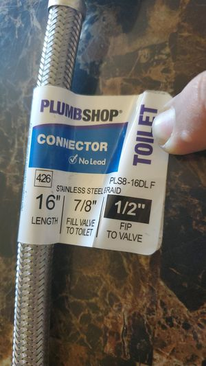 """Connector stainless teel 7/""""8. 1/2"""" for Sale in Hayward, CA"""