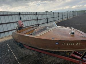 1956 woody Classic boat for Sale in Commerce City, CO