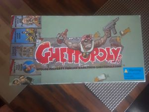 Original GHETTOPOLY board game for Sale in Mount Clemens, MI