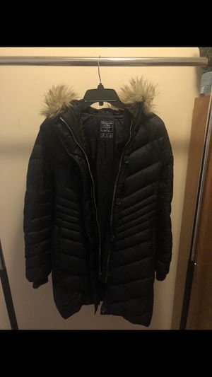 Black Abercrombie Parka Size Small for Sale in New Britain, CT