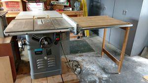Table Saw / Delta Uni saw for Sale in Bonney Lake, WA