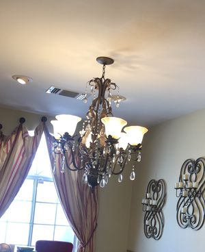 Mercari Crystal Chandelier for Sale in Los Angeles, CA