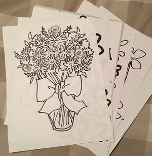 Flower drawings for Sale in Springfield, VA