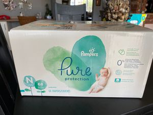 Pampers newborn diapers for Sale in Huntington Beach, CA