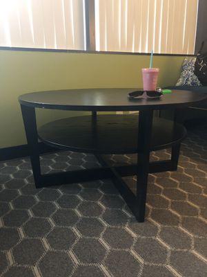 IKEA coffee table -black for Sale in La Jolla, CA