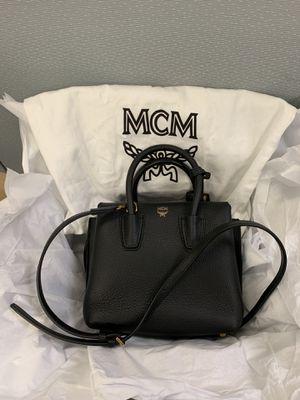 NEW MCM Milla Mini Leather Tote Bag Black Crossbody Dust Bag included for Sale in El Segundo, CA