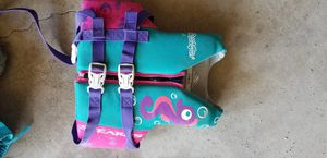 Girls youth life jacket for Sale in Columbia City, IN