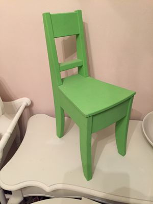 Small wooden chair shelf for Sale in Hartsdale, NY