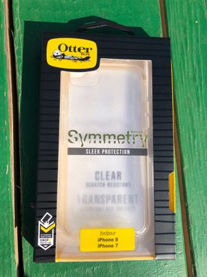 Otter box symmetry case iPhone 7 IPhone 8 for Sale in Shrewsbury, NJ