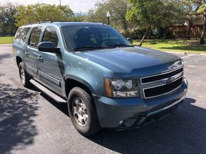 Gorgeous condition 2010 Chevy Suburban LT fully loaded leather panoramic sunroof 3 row seating clean title good miles guaranteed approval for everyone for Sale in Miramar, FL