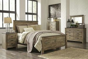 Trinell Brown Panel Bedroom Set | B446 for Sale in Austin, TX
