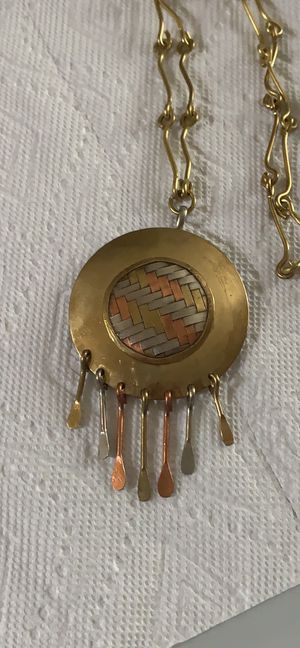 Multiple metals necklace for Sale in Taylorsville, UT