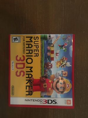 Nintendo 3ds super Mario maker 3ds for Sale in Visalia, CA
