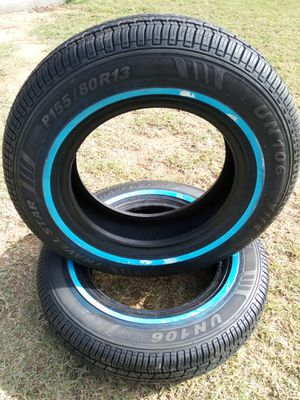 2 NEW TIRES TRAVELSTAR SIZE-(155/80R13) for Sale in Goodyear, AZ