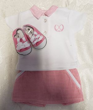 NEW AMERICAN GIRL DOLL GOLF OUTFIT with Sneakers shoes for Sale in Port St. Lucie, FL