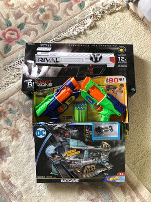 Toys (Nerf, Hotwheels, Toy Gun) for Sale in Sunnyvale, CA