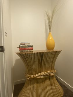 Vintage Sheaf of Wheat Console Table for Sale in Portland,  OR