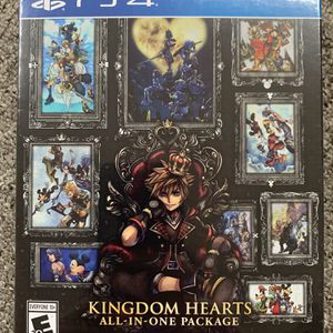 New Kingdom Hearts All-in-One Collection for PlayStation 4 & 5 for Sale in Lynnwood, WA