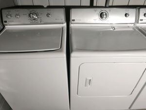 """MAYTAG CENTENNIAL"" MATCHING SET WASHER AND ELECTRIC DRYER HEAVY DUTY SYSTEM SUPER CAPACITY PLUS for Sale in Phoenix, AZ"