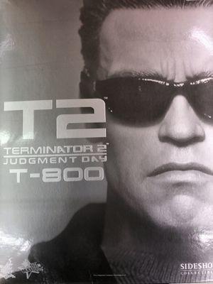 1:6 HOT TOYS MMS117 TERMINATOR T2 T-800 IN Arnold Schwarzenegger FIGURE HOTTOYS for Sale in Centennial, CO
