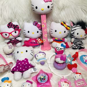 Hello Kitty Toy Lot Plushes Dress Up Mini Toys for Sale in Largo, FL