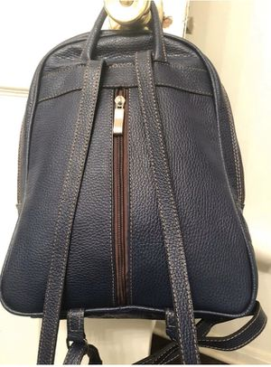 Small navy blue backpack purse. Faux leather for Sale in Little Rock, AR