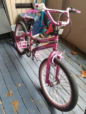 """Kent 20"""" girl's bike Purple for Sale in Everett, WA"""