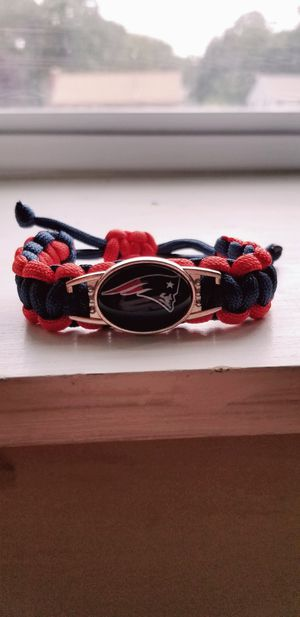 New Patriots Paracord Adjustable Bracelets for Adults and Children! for Sale in Braintree, MA