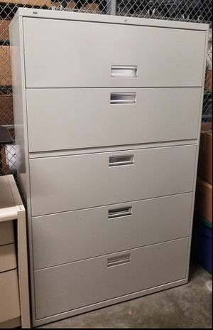 File cabinet with key for Sale in Seattle, WA