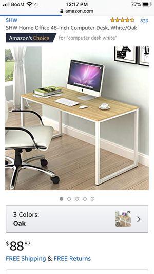 Desk 48 table for Sale in Las Vegas, NV
