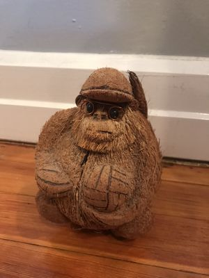 Volleyball Monkey Made of Coconut-$5 for Sale in Queens, NY