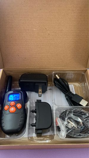 Remote Dog Training collar brand new for Sale in San Jacinto, CA