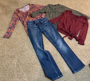 Women's Clothing Size Small $15 for Sale in Cibolo, TX